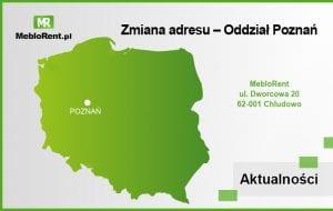 Zmiana poznańskiego adresu MebloRent