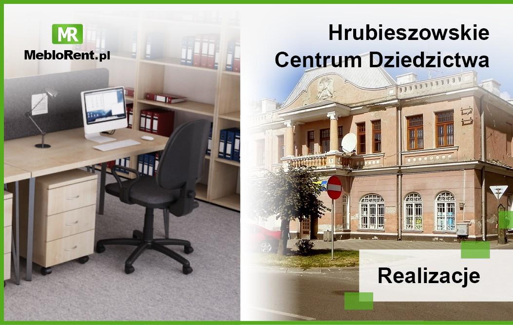 MebloRent dostarczył meble biurowe do Hrubieszowa