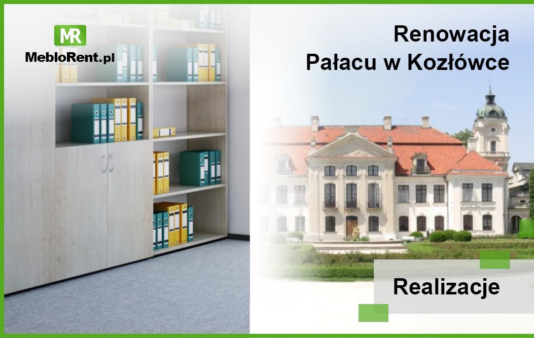 Nasze meble biurowe zostały wykorzystane w aranżacji kontenerów biurowych