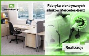 MebloRent na terenie fabryki Mercedes-Benz