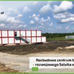 MebloRent na budowie centrum badawczo – rozwojowego Selvita w Krakowie