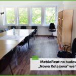 """MebloRent na budowie wrocławskiego osiedla """"Nowa Kolejowa"""""""