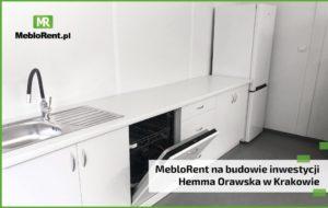 Read more about the article MebloRent na budowie inwestycji Hemma Orawska w Krakowie